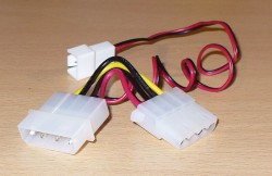 Molex fan adapter