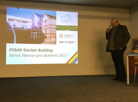 Miroslav Werner about Sinclair Building in Cambridge